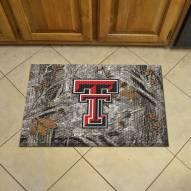 Texas Tech Red Raiders Camo Scraper Door Mat