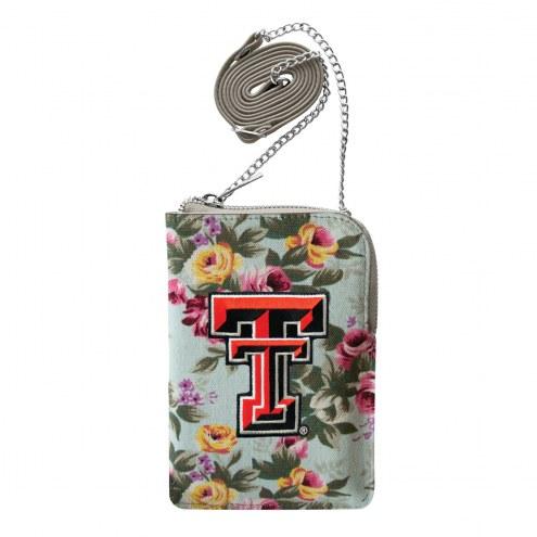 Texas Tech Red Raiders Canvas Floral Smart Purse