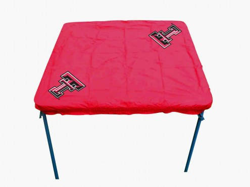 Texas Tech Red Raiders Card Table Cover