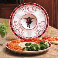 Texas Tech Red Raiders Ceramic Chip and Dip Serving Dish