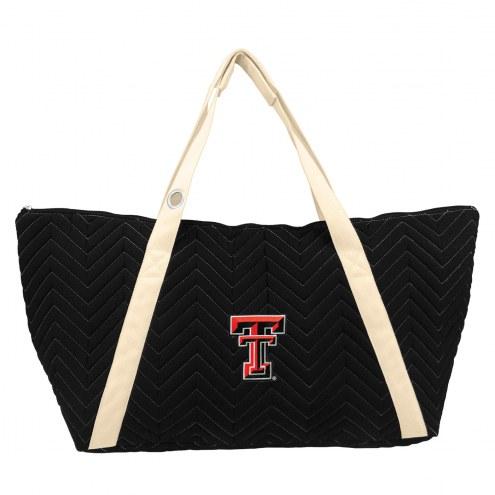 Texas Tech Red Raiders Chevron Stitch Weekender Bag