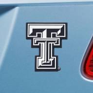 Texas Tech Red Raiders Chrome Metal Car Emblem