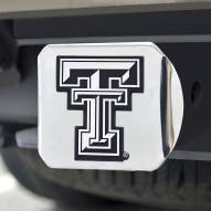 Texas Tech Red Raiders Chrome Metal Hitch Cover