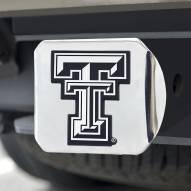 Texas Tech Red Raiders Chrome Metal Hitch Cover