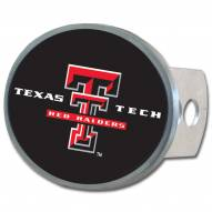 Texas Tech Red Raiders Class II and III Oval Metal Hitch Cover