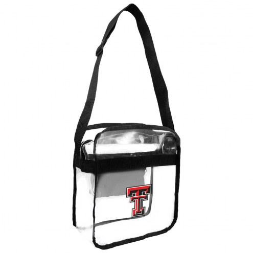 Texas Tech Red Raiders Clear Crossbody Carry-All Bag