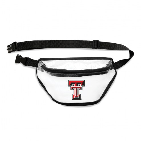 Texas Tech Red Raiders Clear Fanny Pack