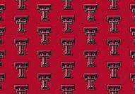Texas Tech Red Raiders College Repeat Area Rug
