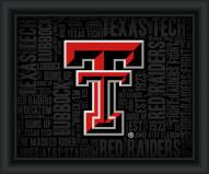 Texas Tech Red Raiders College Word Cloud