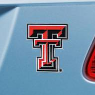 Texas Tech Red Raiders Color Car Emblem