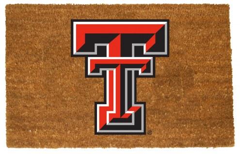 Texas Tech Red Raiders Colored Logo Door Mat