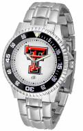 Texas Tech Red Raiders Competitor Steel Men's Watch