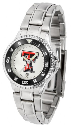 Texas Tech Red Raiders Competitor Steel Women's Watch