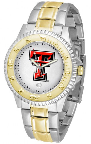 Texas Tech Red Raiders Competitor Two-Tone Men's Watch