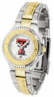 Texas Tech Red Raiders Competitor Two-Tone Women's Watch
