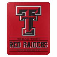 Texas Tech Red Raiders Control Fleece Blanket