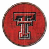 "Texas Tech Red Raiders Cracked Color 16"" Barrel Top"