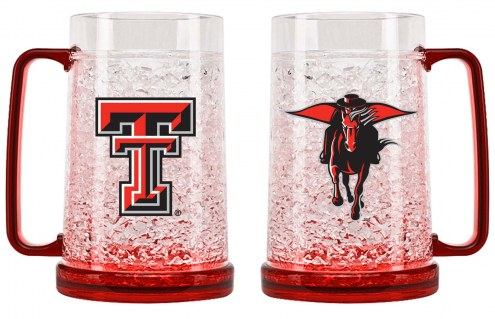 Texas Tech Red Raiders Crystal Freezer Mug