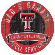 Texas Tech Red Raiders Dad's Garage Sign