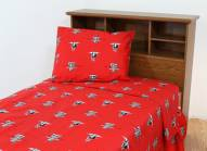 Texas Tech Red Raiders Dark Bed Sheets