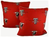Texas Tech Red Raiders Decorative Pillow Set