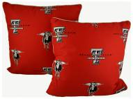 Texas Tech Red Raiders Decorative Pillow Set