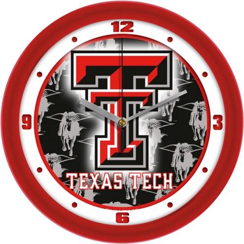 Texas Tech Red Raiders Dimension Wall Clock