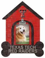 Texas Tech Red Raiders Dog Bone House Clip Frame
