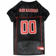 Texas Tech Red Raiders Dog Football Jersey