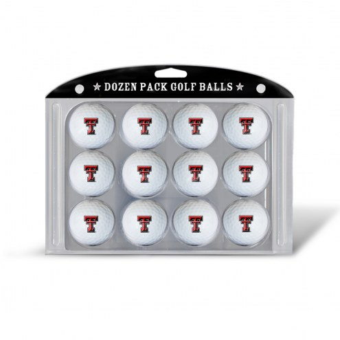 Texas Tech Red Raiders Dozen Golf Balls