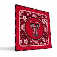 Texas Tech Red Raiders Eclectic Canvas Print