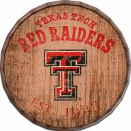 "Texas Tech Red Raiders Established Date 24"" Barrel Top"