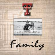 Texas Tech Red Raiders Family Picture Frame