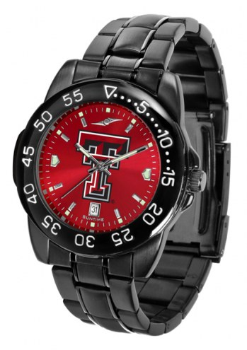 Texas Tech Red Raiders Fantom Sport AnoChrome Men's Watch