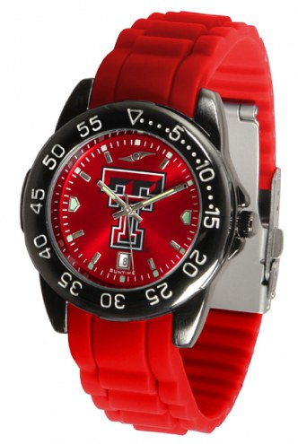 Texas Tech Red Raiders Fantom Sport Silicone Men's Watch