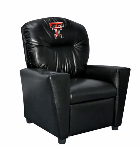 Texas Tech Red Raiders Faux Leather Kid's Recliner