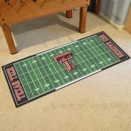 Texas Tech Red Raiders Football Field Runner Rug