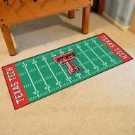 Texas Tech Red Raiders Football Field Runner Rug