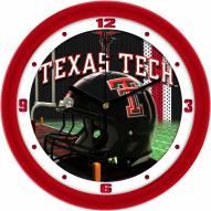 Texas Tech Red Raiders Football Helmet Wall Clock