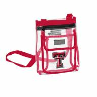 Texas Tech Red Raiders Gameday Clear Crossbody Tote