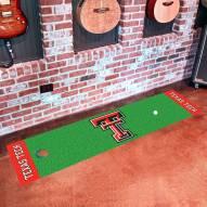 Texas Tech Red Raiders Golf Putting Green Mat