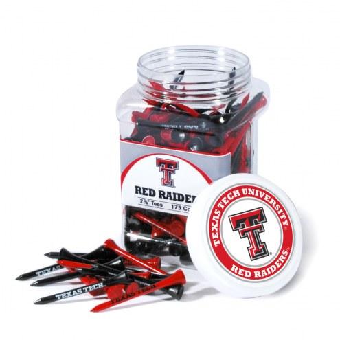 Texas Tech Red Raiders 175 Golf Tee Jar