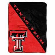 Texas Tech Red Raiders Halftone Raschel Blanket