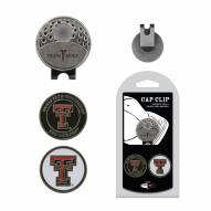 Texas Tech Red Raiders Hat Clip & Marker Set