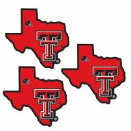 Texas Tech Red Raiders Home State Decal - 3 Pack