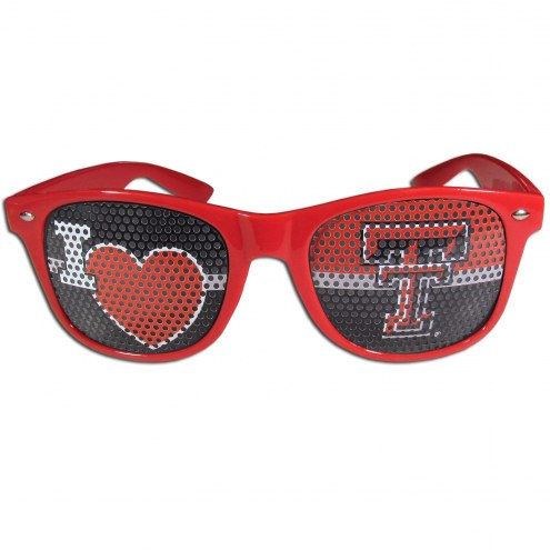 Texas Tech Red Raiders I Heart Game Day Shades