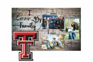 Texas Tech Red Raiders I Love My Family Clip Frame