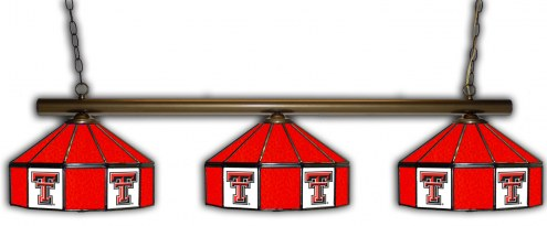 Texas Tech Red Raiders 3 Shade Pool Table Light