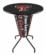 Texas Tech Red Raiders Indoor Lighted Pub Table