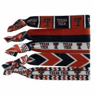 Texas Tech Red Raiders Knotted Hair Tie
